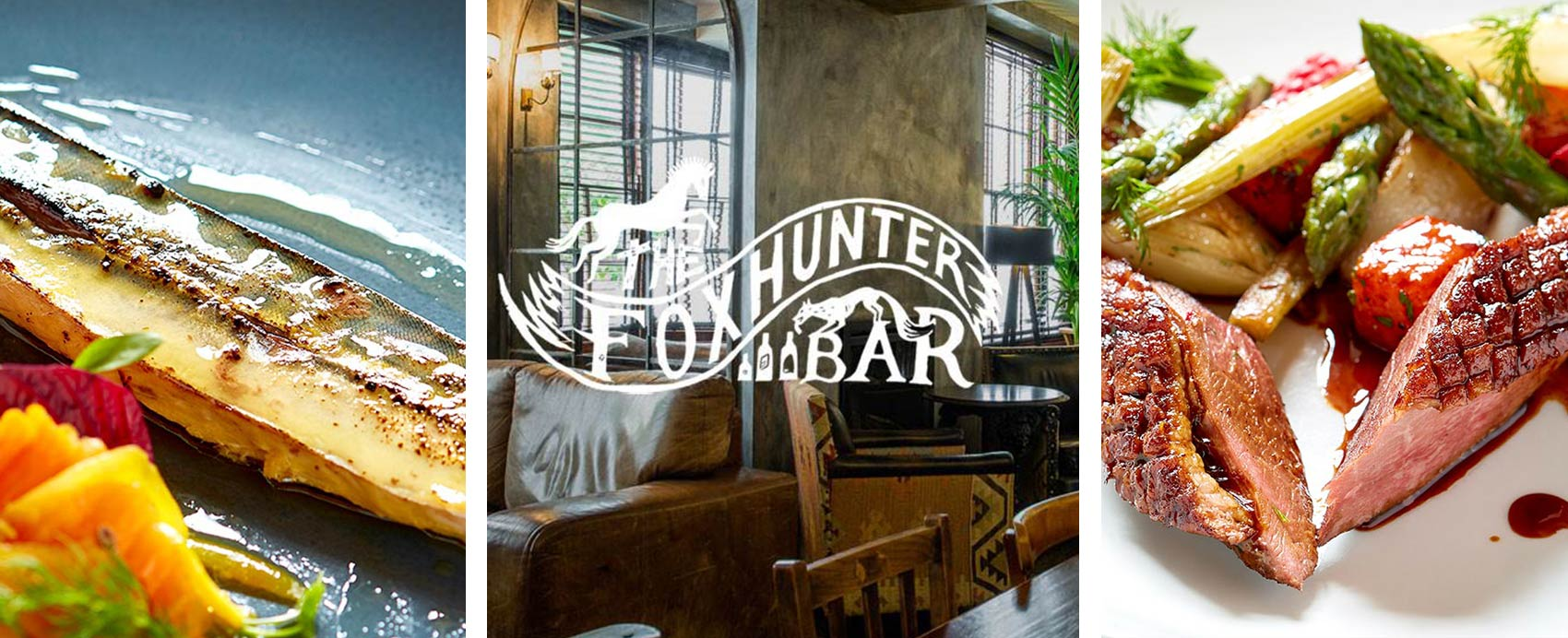 The Foxhunter Bar provides comfortable, stylish surroundings which you will want to revisit again and again