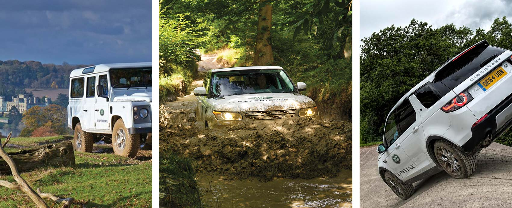 Re-ignite the explorer in you on the world?s most historic and challenging Land Rover off road trails