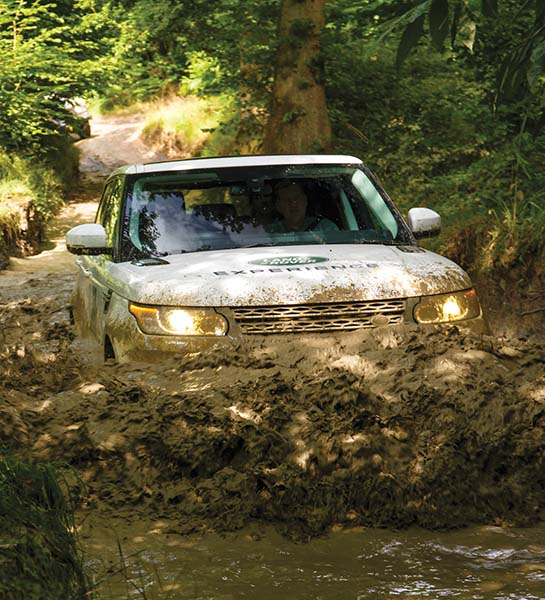 Land Rover off road trails