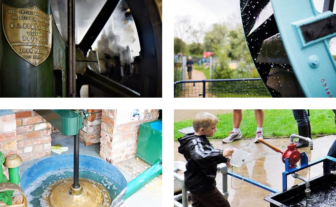 Plenty to see and do for the whole family and making a splash is part of the fun