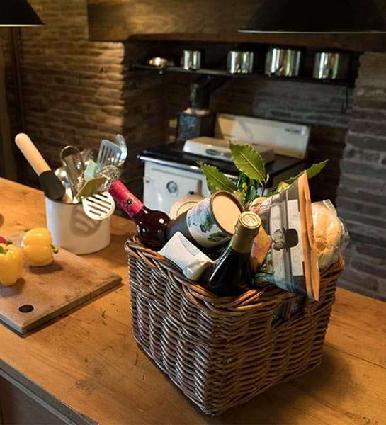 Hampers available at The Barn
